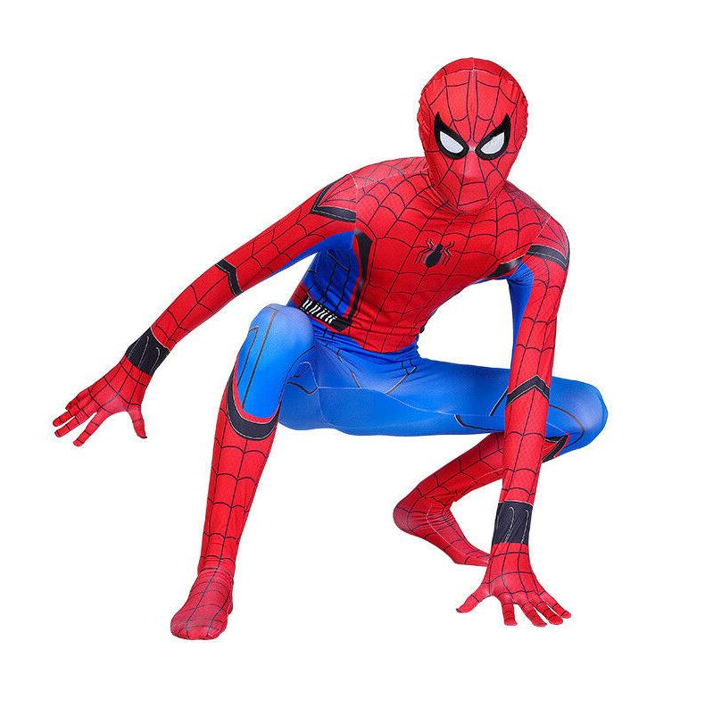 US Spider-Man: Cosplay Costume Unisex Spandex Bodysuit