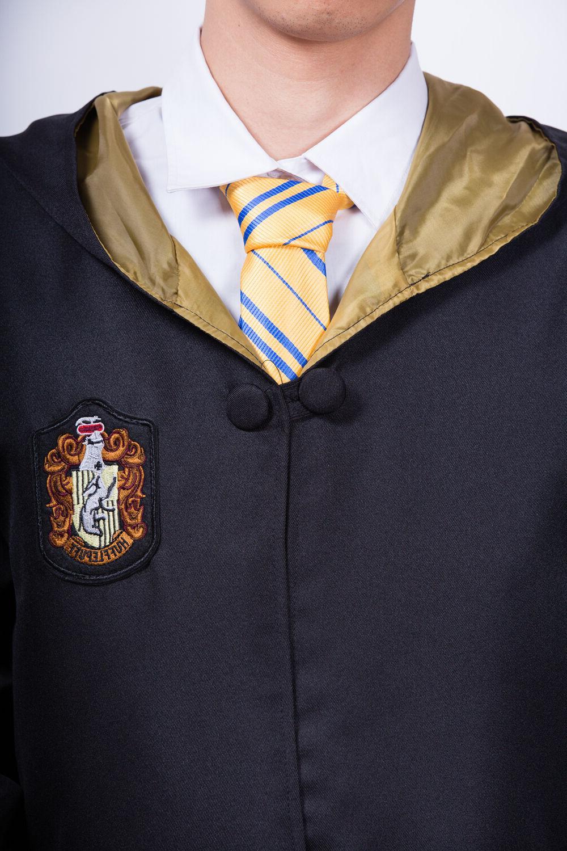Hufflepuff Kids Robe Tie Costume Xmas Gift