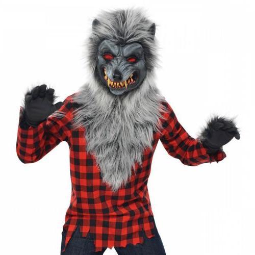 Werewolf Costume Kids Halloween Fancy Dress