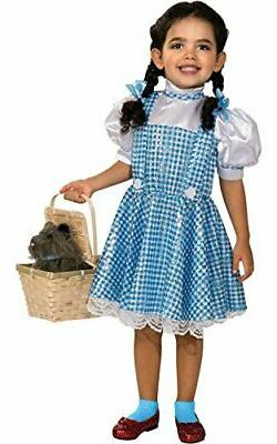 Wizard of Oz Dorothy Sequin Costume, Medium