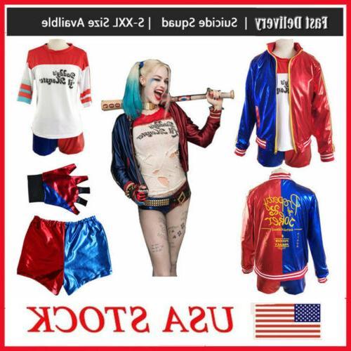 women adult harley quinn suicide squad coat