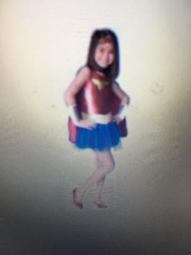 Girl's Wonder Woman Tutu Costume