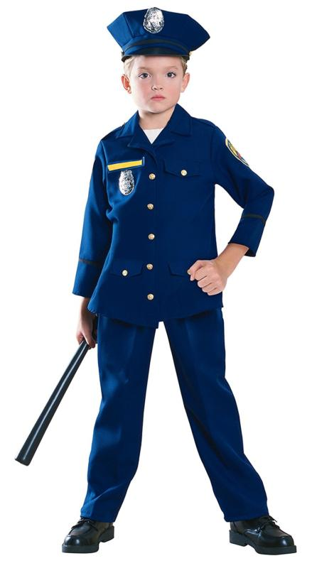 young heroes police officer costume