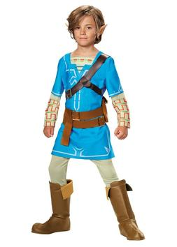 Legend of Zelda Breath of the Wild - Blue Link Child Deluxe