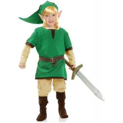 Link Costume Kids Legend of Zelda Halloween Fancy Dress