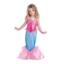 Toddler Kids Girls Little Mermaid Tail Ariel Halloween Cospl