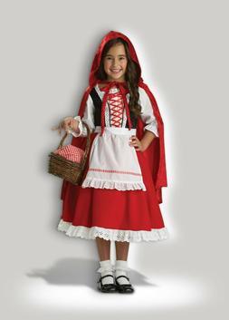 InCharacter Little Red Riding Hood Dress Childrens Girls Hal