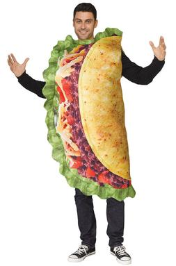 LOL By Fun World Taco - Photo Real Tunic Costume Child or Ad