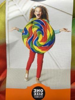 LOLLIPOP Bright Swirl Kids Adult Halloween Costume Vest Pull