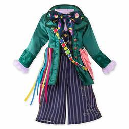 Disney Store Mad Hatter Kids Costume Size 4 Alice in Wonderl
