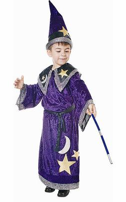 Dress Up America Magic Magician Wizard Toddler Child Costume
