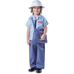 Mailman Costume for Kids - Mail Carrier Postman For Boys By