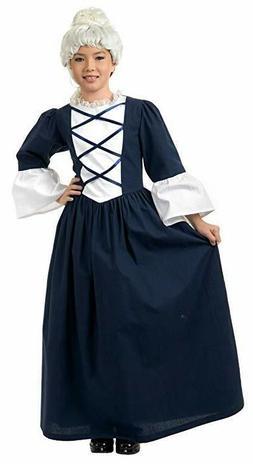 Charades Martha Washington Children's Costume, Large - FAST