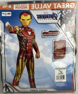 Marvel Avengers Endgame IRON MAN w/Hard Mask Costume Child 8