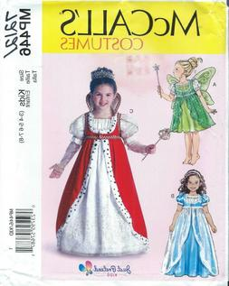 McCall's 7212 COSTUME Pattern JUST PRETEND KIDS ~ QUEEN FAIR