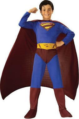 Morris Costumes Men's Superman Child Large. RU82301LG