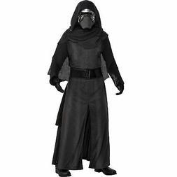 Mens Kylo Ren Deluxe Costume Standard Size Star Wars Robe Ma