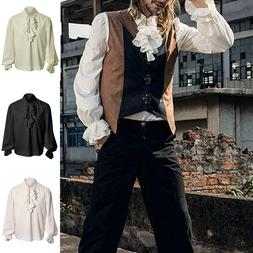 Mens Steampunk Medieval Costume Renaissance Victorian Pirate
