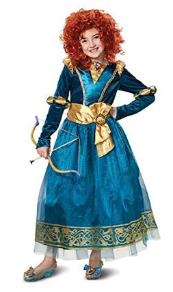 Disguise Merida Deluxe Child Costume, Green, Size/