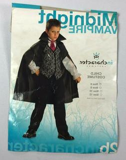 midnight vampire child halloween costume new bj