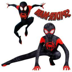 Miles Morales Spider-Man:Into the Spider-Verse Kids Costume