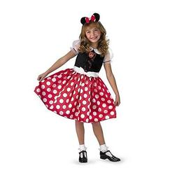 Minnie Mouse Classic Child Costume, 5036, Disguise
