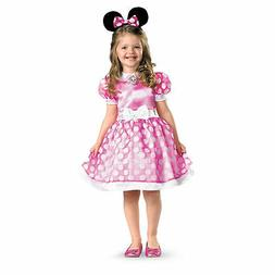 Minnie Mouse Costume PINK Classic Toddler & Girls Child Disn