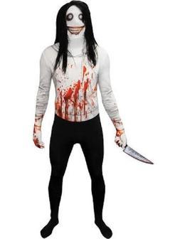 morphcostumes jeff the killer morphsuit costume adult