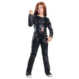 Natasha Romanoff Costume Kids Black Widow Girls Avengers Out