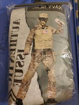 Navy SEAL Costume Fun World Kids Halloween Yourh Large 12-14