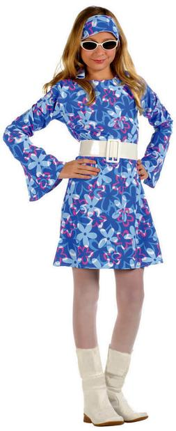 NEW RG Costumes Child's Girls Tween 70's Fever Go Go Disco C