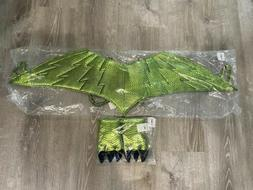 New Hanna Andersson Dinosaur Costume Wings & Claws One Size