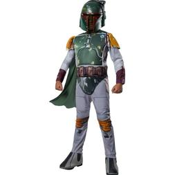 NEW Disney Star Wars Rubies Boba Fett Costume Child Medium J