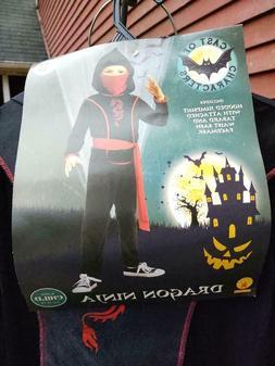NEW Halloween Dragon Ninja Kids Costume Cosplay Size: Youth