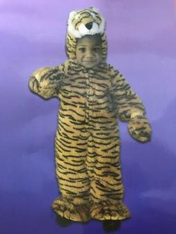 New Just Pretend Kid's Tiger Animal Halloween Costume Unisex