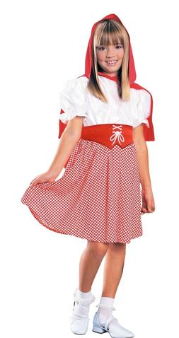NEW Kids Girls Red Riding Hood Costume by Rubie's Sz SMALL 4