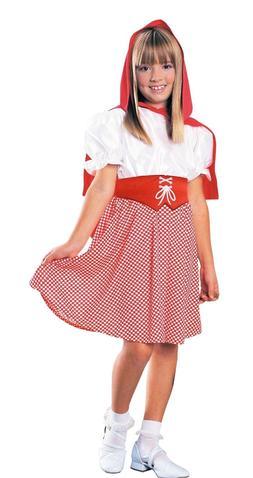 new kids girls red riding hood costume