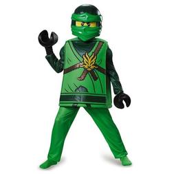 NEW Lego Lloyd Ninjago Deluxe Kids size M 7/8 Costume Outfit
