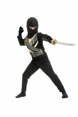 New Ninja Avenger Series IV Black Boys Costume by Charades 8