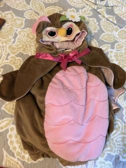 NEW Koala Kids PINK & BROWN OWL Infant Girl's Size 3/6 Month