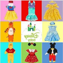 NEW QUALITY DISNEY CHARACTER BOY GIRL BABY KIDS DRESS UP PLA