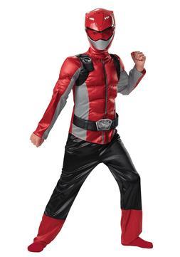 New Red Ranger Muscle Kids Power Rangers Beast Morphers Cost