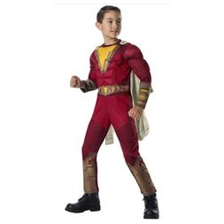 New Rubie's Shazam Child Costume Kids Youth Boys Halloween P