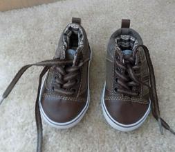 New Koala Kids Toddler Boys Brown Shoes Size 4