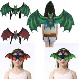 Novelty Kids Vampire Bat Wings/Eyeglasses Costume BABY Cospl