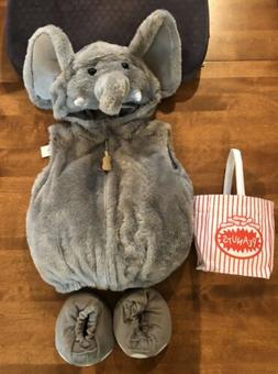 NWT Elephant Plush Infant 6-9 Months Authentic Kids Costume