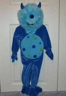 NWT - Koala Kids - One Piece  Hooded One Eye Monster Hallowe