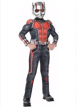 Official Marvel Ant-Man 2Pc Kids Medium Muscle Costume Inclu