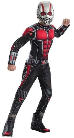 Official Marvel Ant-Man 2Pc Kids Small Muscle Costume Includ