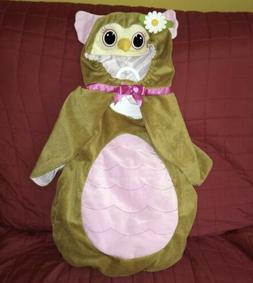Toysrus Koala Kids OWL Halloween Costume Brown Velour Soft 2